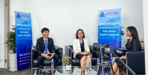 SAFETYNET health insurance with Cambodian Insurance leaders